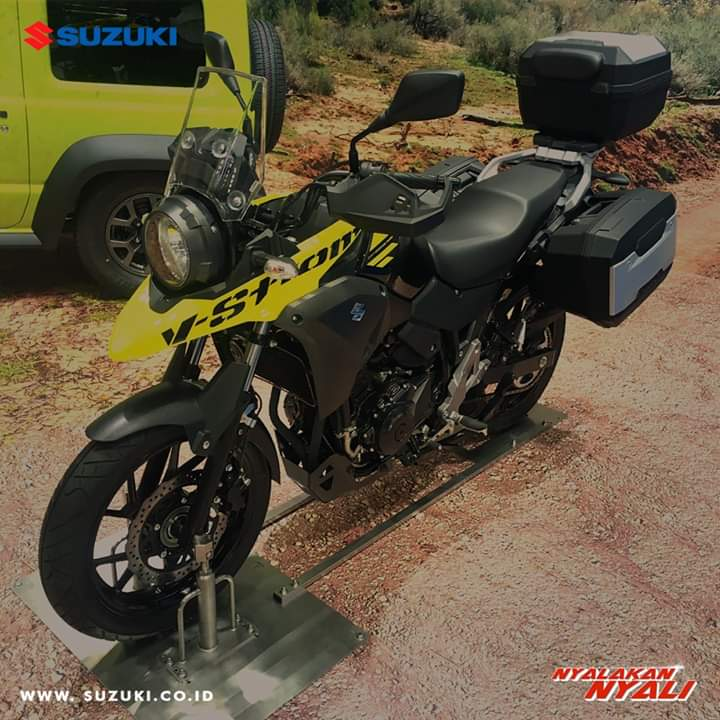 OPINI BIKERS: Suzuki V Stroom 250, Patut Ditunggu!